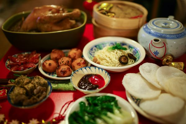 food chinese new year